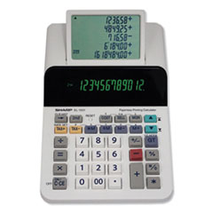 Sharp® EL-1501 Paperless Printing Calculator, 12-Digit LCD