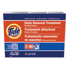 Tide® Professional™ Stain Removal Treatment Powder, 7.6 oz Box, 14/Carton
