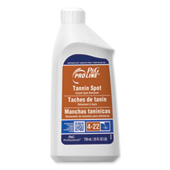 P&G Pro Line® Tannin Spot Carpet Spot Remover, Peach, 25 oz Bottle, 15/Carton