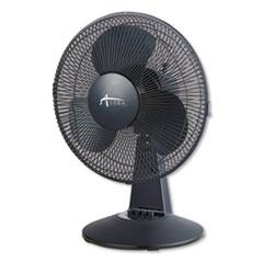 """Alera® 12"""" 3-Speed Oscillating Desk Fan"""