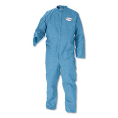 KleenGuard™ A20 Breathable Particle-Pro Coveralls, Zip, 4X-Large, Blue, 24/Carton