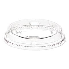 Dart® Prima Strawless Plastic Lids, Fits 12 oz to 26 oz Cups, Clear, 1,000/Carton