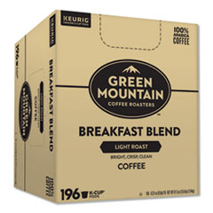 Green Mountain Coffee® Breakfast Blend Bulk K-Cups, 196/Carton