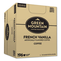 Green Mountain Coffee® Colombia French Vanilla Bulk K-Cups, 196/Carton