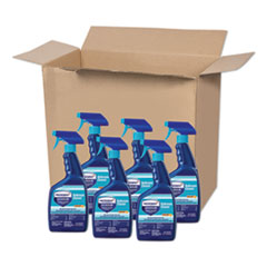 Microban® 24-Hour Disinfectant Bathroom Cleaner, Citrus, 32 oz Spray Bottle, 6/Carton