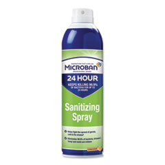 Microban® 24-Hour Disinfectant Sanitizing Spray