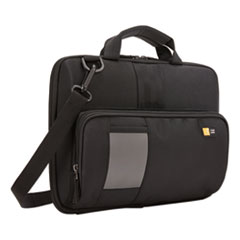 Case Logic® Guardian Work-In Case with Pocket, Polyester, 13 x 2 2/5 x 9 4/5, Black