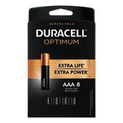 Optimum Alkaline AAA Batteries, 8/Pack