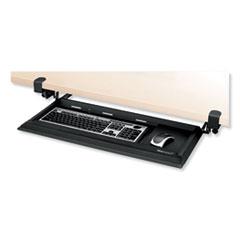 Fellowes® Designer Suites DeskReady Keyboard Drawer, 19.19w x 9.81d, Black Pearl
