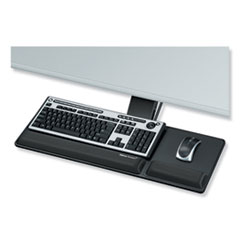 Fellowes® Designer Suites Compact Keyboard Tray, 19w x 9.5d, Black