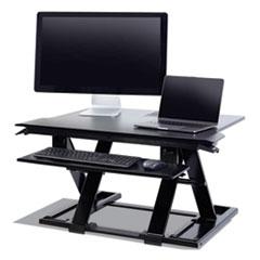 """WorkFit™ by Ergotron® WorkFit TX Standing Desk Converter, 36.6"""" x 33"""" x 19"""", Black"""