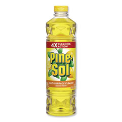 Pine-Sol® Multi-Surface Cleaner, Lemon Fresh, 28 oz Bottle