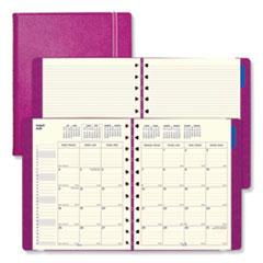 Filofax® Monthly Planner, 10.75 x 8.5, Fuchsia, 2021-2022