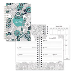 Blueline® Doodleplan™ Weekly/Monthly Planner