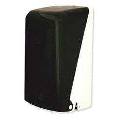 "GEN Two Roll Household Bath Tissue Dispenser, 5.51"" x 5.59"" x 11.42"", Smoke"