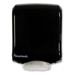 Boardwalk® Ultrafold Multifold/C-Fold Towel Dispenser, 11.75 x 6.25 x 18, Black Pearl
