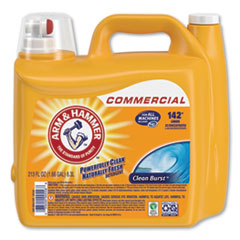 Arm & Hammer™ Dual HE Clean-Burst Liquid Laundry Detergent, 213 oz Bottle, 2/Carton