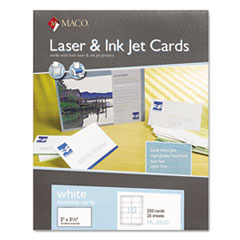 MACO® Microperforated Laser/Ink Jet Business Cards