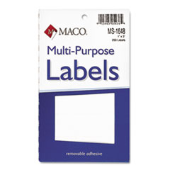 MACO® Multi-Purpose Self-Adhesive Removable Labels Thumbnail