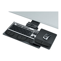 Fellowes® Professional Executive Adjustable Keyboard Tray, 19w x 10.63d, Black