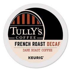 Tully's Coffee® French Roast Decaf Coffee K-Cups®