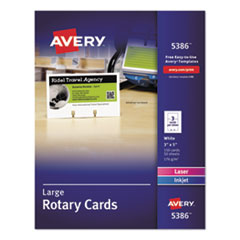 Avery® Printable Rotary Cards