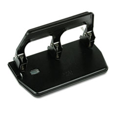 Sold as 1 Each Black 9//32 Holes 40-Sheet Heavy-Duty Two-Hole Punch Padded Handle