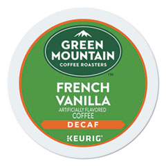 French Vanilla Decaf Coffee K-Cups, 24/Box