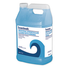 Boardwalk® Industrial Strength Glass Cleaner with Ammonia, 1 Gal Bottle