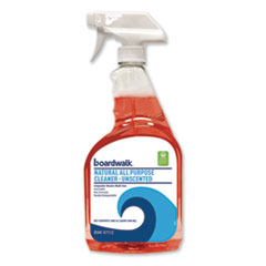 Boardwalk® Natural All Purpose Cleaner, Unscented, 32 oz Spray Bottle, 12/Carton