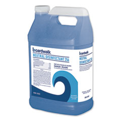 Boardwalk® Neutral Disinfectant, Floral Scent, 1 gal Bottle, 4/Carton