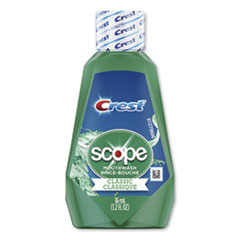 Crest® + Scope Rinse, Classic Mint, 36 mL Bottle, 180/Carton