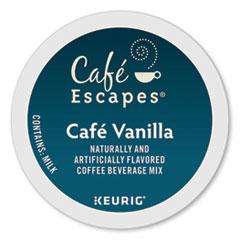 Café Escapes® Cafe Vanilla K-Cups, 24/Box