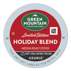Green Mountain Coffee® Holiday Blend K-Cups, Medium Roast, 24/Box