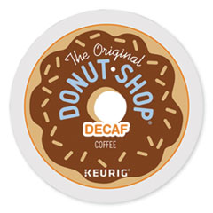 The Original Donut Shop® Decaf Coffee K-Cup Pods, 96/Carton