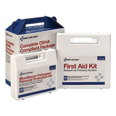 First Aid Only™ First Aid Kit for 50 People, 229-Pieces, ANSI/OSHA Compliant, Plastic Case