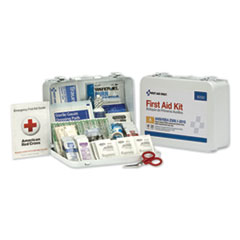 First Aid Only™ ANSI Class A 25 Person Bulk First Aid Kit for 25 People, 89 Pieces