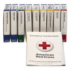 First Aid Only™ ANSI Compliant 10 Person First Aid Kit Refill, 63-Pieces