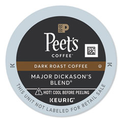 Peet's Coffee & Tea® Major Dickason's Blend K-Cups, 22/Box