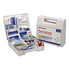 First Aid Only™ ANSI 2015 Compliant Class A+ Type I and II First Aid Kit for 25 People, 141 Pieces