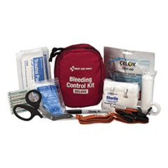 First Aid Only™ Deluxe Bleeding Control Kit, 5 x 3.5 x 7