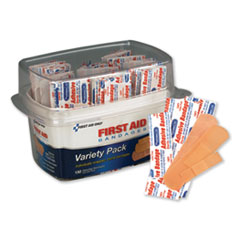 PhysiciansCare® by First Aid Only® First Aid Bandages, Assorted, 150 Pieces/Kit