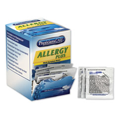 PhysiciansCare® Allergy Antihistamine Medication, Two-Pack, 50 Packs/Box