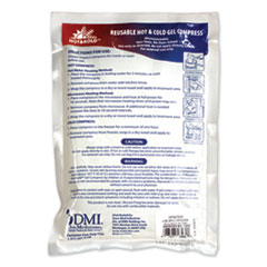 "PhysiciansCare® by First Aid Only® Reusable Hot/Cold Pack, 8.63"" Long, White"