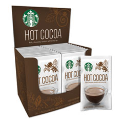 Starbucks® Gourmet Hot Cocoa, 1 oz, 24/Box, 6 Boxes/Carton