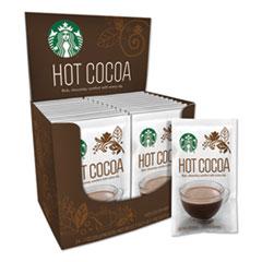 Starbucks® Gourmet Hot Cocoa, 1 oz, 24/Box, 6 Boxes/Carton