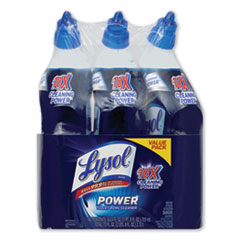 LYSOL® Brand Disinfectant Toilet Bowl Cleaner, Wintergreen, 24 oz Bottle, 3/Pack