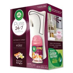 Air Wick® Freshmatic Life Scents Starter Kit, Summer Delights, 5.89 oz Aerosol, 4/Carton