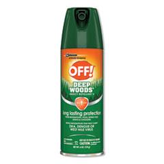 OFF!® Deep Woods Insect Repellent, 6oz Aerosol, 12/Carton