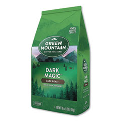 Green Mountain Coffee® Dark Magic Ground Coffee, 18 oz Bag, 6/Carton